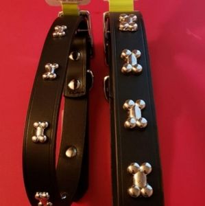 1 REAL Leather Dog Collar *NEW*